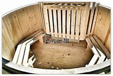 wooden tub cheap model tub outdoor spa log burner