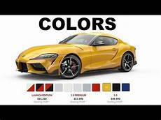 2020 toyota supra colors see all 8 unique colors