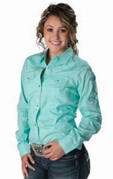 cruel rodeo western barrel mint coral plaid bling shirt nwt medium style