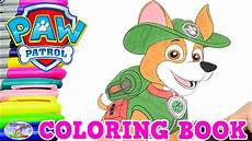 Malvorlagen Paw Patrol Tracker Paw Patrol Coloring Book Tracker Episode Show Egg