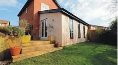 combien coute une maison ossature bois prix d une extension en bois co 251 t de construction
