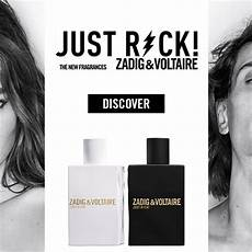 La Pub Des Parfums Just Rock Zadig Voltaire Prime Beaut 233