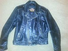 Ebay Harley Davidson Leather Jackets by Harley Davidson S Black Distressed Leather Vintage