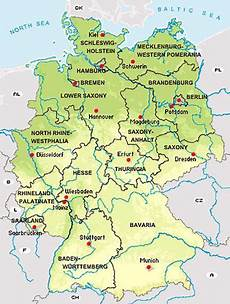 map of federal states of germany search for family roots