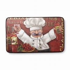 Themed Kitchen Floor Mats by Chef Mats Cushioned Kitchen Mat Chef Shop Your Way