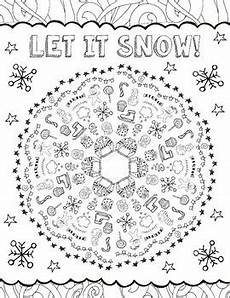winter mandala coloring pages by is basic teachers
