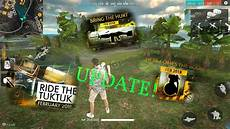winter update free fire new update sneak peek vehicles weapons map characters