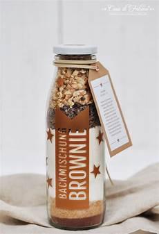 Backmischung Brownies Rezept Verpackungsidee Casa Di