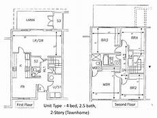 schofield barracks housing floor plans 4 bedroom legacy townhome schofield non ad 4 bed