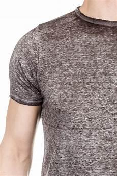 avant toi herren leinen t shirt grau luxuryloft