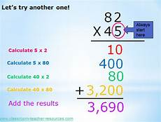 partial product multiplication lesson and worksheets multiplication worksheets and math
