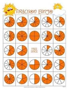 fraction bingo worksheets 3859 fraction bingo teaching math teaching fractions fractions
