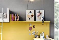 mensola colorata mensola in legno start lineare clever it