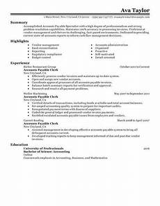 best accounts payable specialist resume exle from professional resume writing service