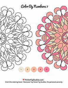 mandala coloring pages by numbers 17867 printable mandalas coloring pages number 7 porter fig studios