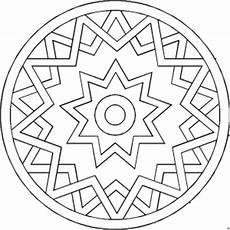 Malvorlagen Mandala Gratis Sternfoermiges Mandala Ausmalbild Malvorlage Mandalas