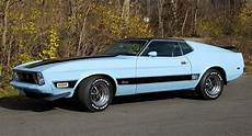 baby blue 1973 ford mustang mach 1 could be yours for 14k
