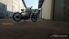 Motor Modif Sepeda Bmx by Modif Motor Jadi Sepeda Bmx