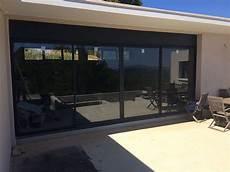 baie vitrée coulissante baie vitr 233 e baie coulissante artisan menuisier toulon
