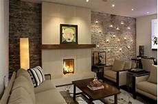17 divine stone wall ideas for your living room style