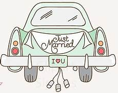 just married auto clipart 13 187 clipart station
