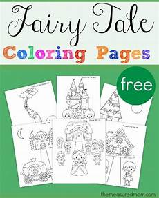 fairytale themed coloring pages 14942 tale coloring pages subscriber freebie tale crafts tale activities