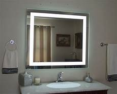 lighted vanity mirror led lighted wall mounted mam84036 40 quot wide x 36 quot tall ebay