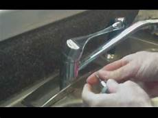 leaking faucet kitchen how to repair a leaking kitchen faucet