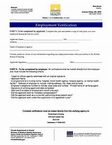 employment verification questions forms and templates