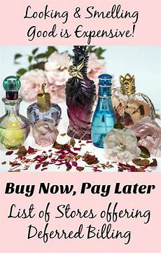 buy fragrance now pay later with stores offering deferred