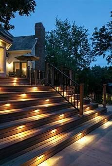 233 clairage pour terrasse en bois ext 233 rieur escalier spot
