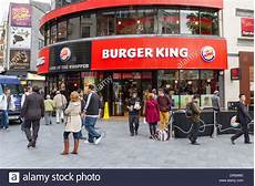 Burger King Fast Food Outlet Leicester Square