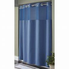 hookless mystery shower curtain hookless moonlight blue pique mystery polyester
