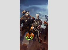 Download 640x1136 Fortnite Cauchemars, Pumpkins, Artwork