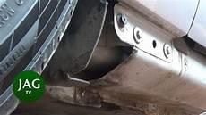 Jaguar S Type R Door Sill Inspection