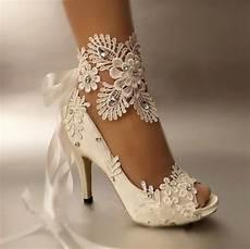 Heels Wedding aliexpress buy dress shoes pumps open toe lace