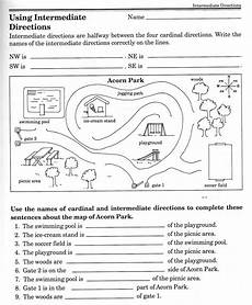worksheets on directions for grade 4 11747 social studies skills social studies geography and homeschool