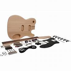 tele guitar kit premium diy tele style electric guitar kit dual humbuckers luthier project kit ebay