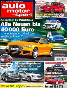 sport auto zeitschrift abo pr 228 mie testbericht zeitschrift abo auto motor und sport