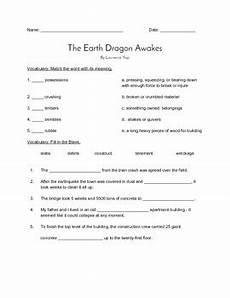 the earth awakes worksheets 14426 quot the earth awakes quot quiz journeys grade 4 reader by vicki thompson