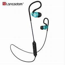 Langsdom Bs85 Sports Bluetooth Stereo Bass by Langsdom Bs80 Wireless Sports Bluetooth In Ear Earphone