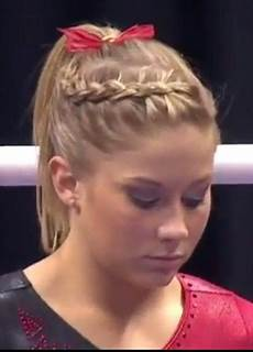 gymnastics hair hair violet s hair in 2019