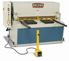 sheet metal shear hydraulic heavy duty sh 5203 hd baileigh industrial