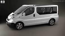 Opel Transporter Vivaro - opel vivaro passenger 2006 by 3d model store humster3d