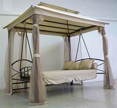 letto amaca gazebo giardino dondolo letto 3 posti per esterno