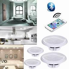 enceinte encastrable salle de bain kit haut parleurs b402bl 2x15w de plafond salle de bain avec bluetooth enceintes baffle et