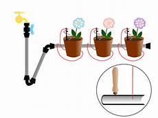 irrigazione a goccia vasi kit irrigazione a goccia balcone 20 vasi astine tappo tubo