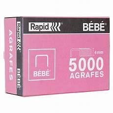 Rapid Agrafes B 233 B 233 Boite De 5000 Agrafes Cuivr 233 Es