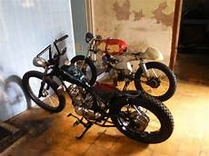 Jual Motor Modifikasi by Jual Motor Modif Cb125 Chopper Custom Mojokerto Lapak