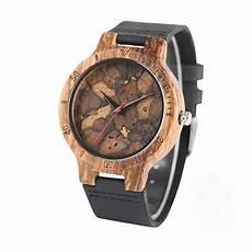 montre en bois homme montre homme bois originale montre bois et cuir